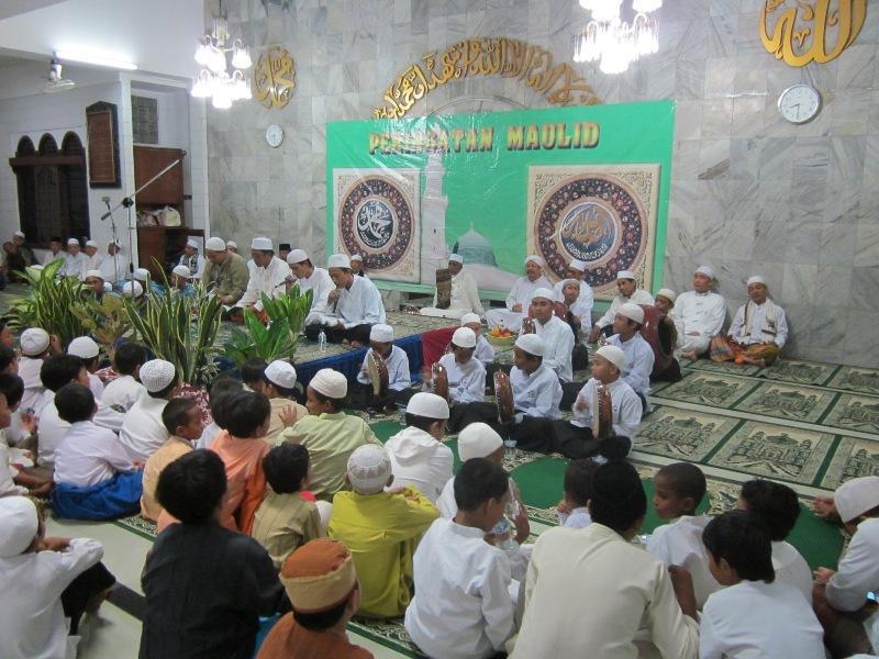 Acara istighosah masjid nurul latiff